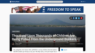 Fact Check: 'Thousands Upon Thousands' Of Children Purportedly Kidnapped By A Satanic Pedophile Ring Have NOT Been 'Pulled From Underground Bunkers'