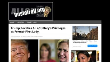 Fact Check: Trump Did NOT Revoke All of Hillary's Privileges as Former First Lady
