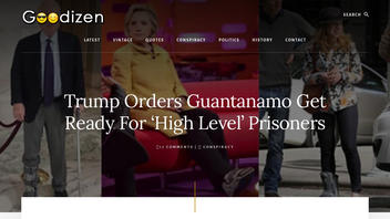 Fact Check: President Trump Did NOT Order Guantanamo Bay To Prepare For 'High Level' Prisoners