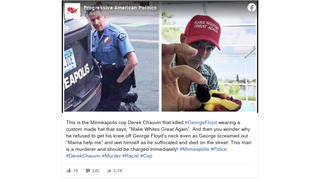 Fact Check: Man Wearing MAGA-Style Hat In Photo Or Onstage At Trump Rally Is NOT Minneapolis Cop Derek Chauvin, Involved In Death Of George Floyd