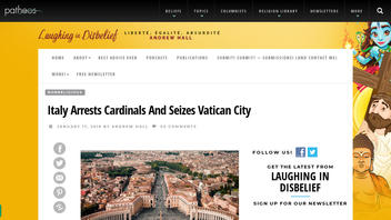 Fact Check: Italy Did NOT Arrest Cardinals, Did NOT Seize Vatican City