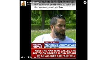 Fact Check: George Floyd Was NOT 'Found To Be Innocent,' No Word On If $20 Bill Was Real
