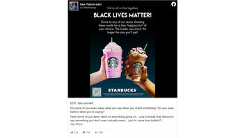 Fact Check: Starbucks, KFC Coupons Offering Free Food For 'Black Lives Matter' Are Fake