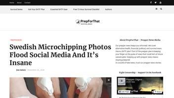 Fact Check: Photos Do NOT Show Mass Microchipping In Sweden Has Begun