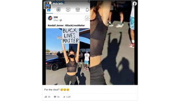 Fact Check: Kendall Jenner Did NOT Post A Photoshopped Picture Holding A 'Black Lives Matter' Sign