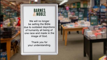 Fact Check: Bibles NOT Pulled From Shelves At Barnes & Noble