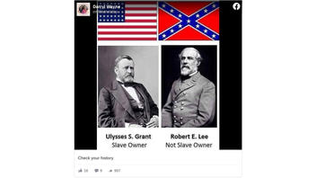 Fact Check: Robert E. Lee WAS A Slave Owner -- And So Was Ulysses S. Grant