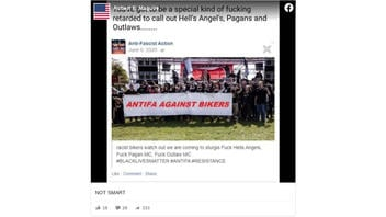 Fact Check: Photo of 'Antifa Against Bikers' Banner is NOT Real; Antifa Did NOT Warn Hells Angels To 'Watch Out We Are Coming To Sturgis'