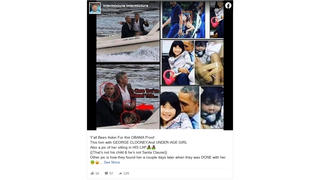 Fact Check: Photos Do NOT Prove Obama And Clooney Acted Inappropriately -- Girl Is The President's Niece And NOT The Girl Who Was Murdered