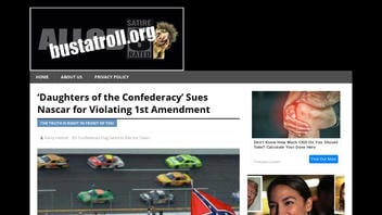 Fact Check: Daughters Of The Confederacy Group Did NOT Sue NASCAR For 'Violating First Amendment'