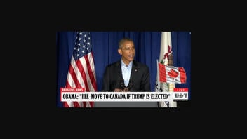 Fact Check: Obama Did NOT Declare He And His Family Will Leave U.S. For Canada If Trump Wins Re-Election