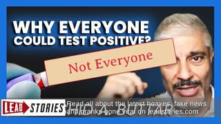 Fact Check: Dr. Rashid Buttar Video Does NOT Prove 'Everyone Could Test Positive' for Coronavirus And 'Hardly Anybody' Has Died From COVID-19