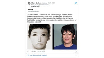 Fact Check: Jeffrey Epstein and Ghislaine Maxwell Were NOT Known To Be Staying Down The Road From Madeleine McCann At The Time She Was Abducted