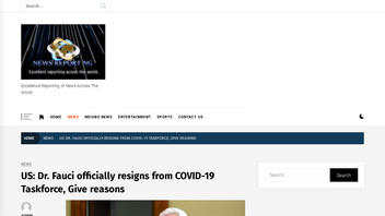 Fact Check: Dr. Fauci Did NOT Resign From COVID-19 Task Force