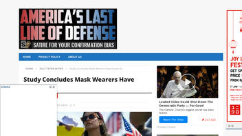 Fact Check: Study Does NOT Conclude Mask Wearers Have Lower IQ