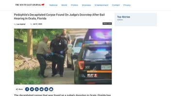 Fact Check: Pedophile's Decapitated Corpse NOT Found On Judge's Doorstep After Bail Hearing In Ocala, Florida