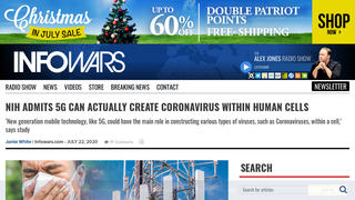 Fact Check: NIH Did NOT Admit 5G Can Actually Create Coronavirus Within Human Cells