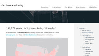 Fact Check: 409,152 Non-Sealed Indictments For 'Child Pedophilia' And Trafficking Offenses NOT 'Coming To The Surface'
