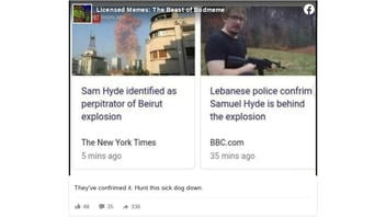 Fact Check: Sam Hyde Is NOT Identified As Perpetrator Of Beirut Explosion