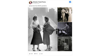 Fact Check: Images in '1918 Flu Pandemic' Photo Post Are NOT All From That Period In History