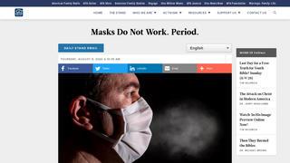 Fact Check: Face Masks DO Work. Period.