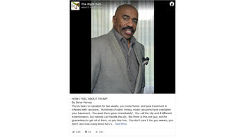 Fact Check: Comedian Steve Harvey Did NOT Write 'How I Feel About Trump' Post