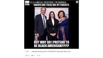 Fact Check: Photo Is NOT Kamala Harris With Her Parents And Is NOT Evidence She Is Not A Black American