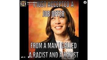 Fact Check: Kamala Harris Did NOT Call Joe Biden 'A Racist And A Rapist'