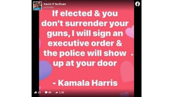 Fact Check: Kamala Harris Did NOT Say She Would Sign An Executive Order To Send Police To Take Your Guns