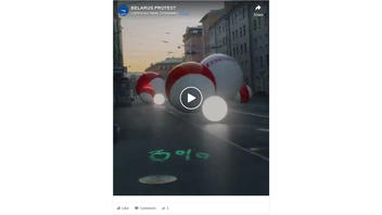 Fact Check: Belarus Bouncing Balls Video Does NOT Show An Actual Street Event in Embattled Belarus