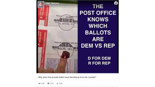 Fact Check: Mail-In Ballots Marked Democrat Or Republican Were NOT For November Election -- They Were For Florida Primary