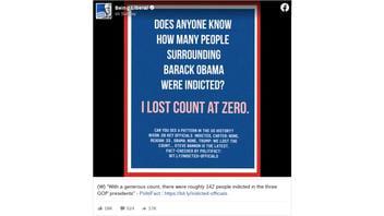 Fact Check: Someone Among Those Around Barack Obama WAS Indicted