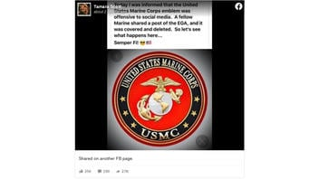 Fact Check: Facebook Did NOT Remove Post Because It Featured The Marine Corps Emblem