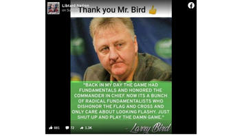Fact Check: Larry Bird Did NOT Tell NBA Players To 'Shut Up And Play The Damn Game'