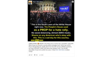 Fact Check: The Trump RNC Acceptance Speech Was NOT The First Time The White House Was Used For 'Purely Political Campaign Event'
