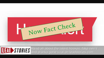 "Goodbye ""Hoax Alert"", Hello ""Fact Check"""