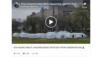 Fact Check: Video Does NOT Show Evidence of Children Being Rescued From Tunnels