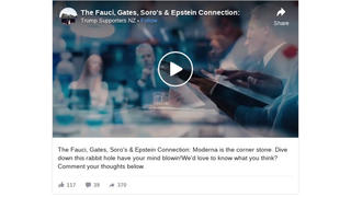 Fact Check: Fauci, Gates, Soros And Epstein Are NOT All Connected Through The Company Moderna