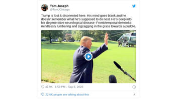 Fact Check: President Trump Was NOT 'Lost & Disoriented' In Video Clip
