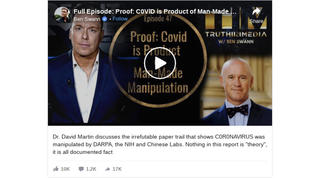 Fact Check: There is NOT An 'Irrefutable Paper Trail' To Prove COVID-19 Is Lab-made