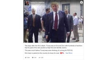 Fact Check: NO Evidence That Donald Trump Paid Hundreds of Workers To Help With Search And Rescue After 9/11