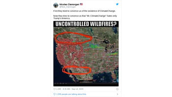 Fact Check: Wildfires DO Affect Mexico And Canada