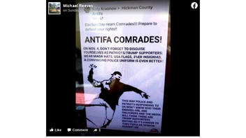 Fact Check: Antifa Is NOT Calling For Election Rioting By Members Dressed As Trump Supporters -- It's An Old Post That Was Shared As Satire. And It Gets The Election Date Wrong