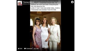 Fact Check: Facebook Did NOT Delete A Photo Of Melania Trump With Her Sister And Mother