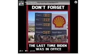 Fact Check: Photo Of Really High Gas Prices Was NOT The 'Last Time Biden Was In Office' -- It's From 2008 When George W. Bush Was President