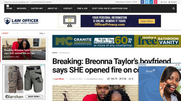 Fact Check: Breonna Taylor's Boyfriend Does NOT Say That She Opened Fire On Officers