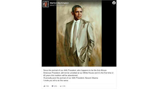 Fact Check: Obama's 'Tan Suit' Portrait Is Not His Official White House Portrait