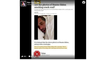 Fact Check: Snopes Did NOT Fact Check A Claim That Photo Showed Hunter Biden Asleep With A Crack Pipe By Concluding It Was A Meth Pipe