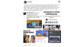 Fact Check: Anthony Weiner's Laptop Did NOT Contain 'Proof Hillary Clinton & Her Associates Are Involved In Child Trafficking And Pedophilia'