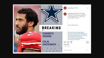 Fact Check: The Dallas Cowboys Have NOT Signed Free Agent QB Colin Kaepernick
